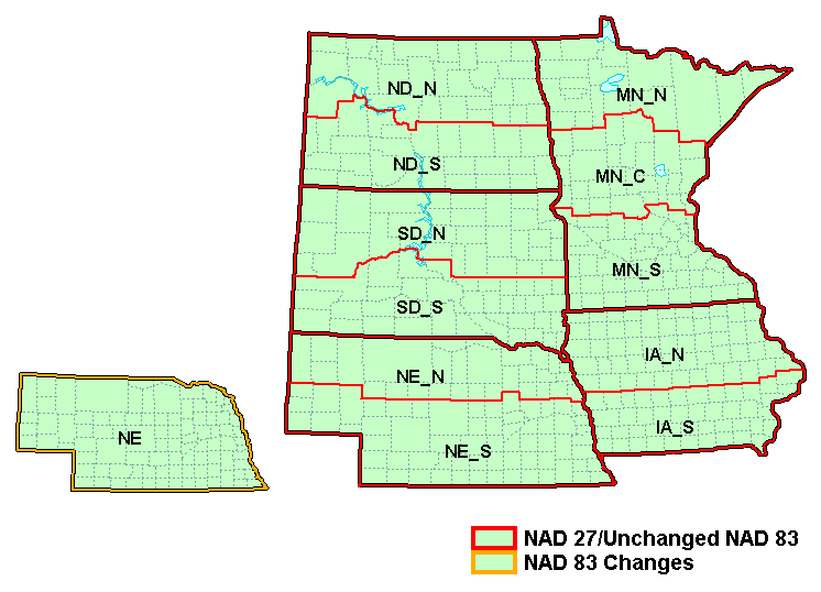 State Plane Coordinate System - XMS Wiki on kansas contour line map, kansas geography map, kansas state plane coordinate zone map,