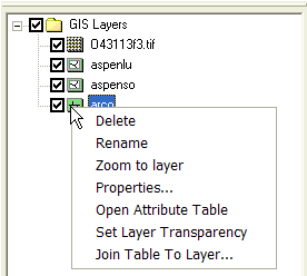 WMS:Project Explorer Contents for GIS Module - XMS Wiki